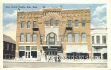 the100200 - Your Grand Theatre Iola, KS, USA Postcard Post Cards Old Vintage Antique