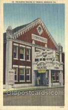 the100208 - Barter Theater of Virginia Abingdon, VA, USA Postcard Post Cards Old Vintage Antique