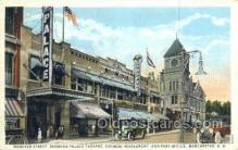 the100212 - Hanover Street, Palace Theatre Manchester, NH, USA Postcard Post Cards Old Vintage Antique