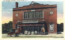 the100225 - Geitner Theatre Silver Creek, NY, USA Postcard Post Cards Old Vintage Antique