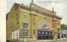 the100237 - Lewiston Empire Theatre Lewiston, ME, USA Postcard Post Cards Old Vintage Antique