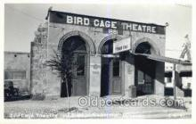 the100252 - Bird Cage Theatre Tombstone, AZ, USA Postcard Post Cards Old Vintage Antique