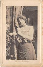 the201031 - Theater Actor / Actress Old Vintage Antique Postcard Post Card, Postales, Postkaarten, Kartpostal, Cartes, Postkarte, Ansichtskarte