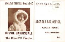 the202010 - Theater Actor / Actress Old Vintage Antique Postcard Post Card, Postales, Postkaarten, Kartpostal, Cartes, Postkarte, Ansichtskarte