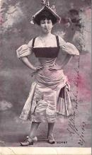 the202076 - Theater Actor / Actress Old Vintage Antique Postcard Post Card, Postales, Postkaarten, Kartpostal, Cartes, Postkarte, Ansichtskarte