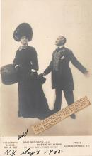 the202180 - Theater Actor / Actress Old Vintage Antique Postcard Post Card, Postales, Postkaarten, Kartpostal, Cartes, Postkarte, Ansichtskarte