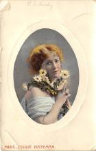 the202204 - Theater Actor / Actress Old Vintage Antique Postcard Post Card, Postales, Postkaarten, Kartpostal, Cartes, Postkarte, Ansichtskarte
