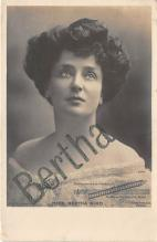 the202230 - Theater Actor / Actress Old Vintage Antique Postcard Post Card, Postales, Postkaarten, Kartpostal, Cartes, Postkarte, Ansichtskarte