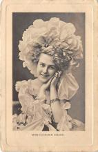 the203089 - Theater Actor / Actress Old Vintage Antique Postcard Post Card, Postales, Postkaarten, Kartpostal, Cartes, Postkarte, Ansichtskarte