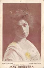 the203200 - Theater Actor / Actress Old Vintage Antique Postcard Post Card, Postales, Postkaarten, Kartpostal, Cartes, Postkarte, Ansichtskarte