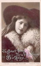 the204165 - Theater Actor / Actress Old Vintage Antique Postcard Post Card, Postales, Postkaarten, Kartpostal, Cartes, Postkarte, Ansichtskarte