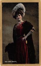the204220 - Theater Actor / Actress Old Vintage Antique Postcard Post Card, Postales, Postkaarten, Kartpostal, Cartes, Postkarte, Ansichtskarte