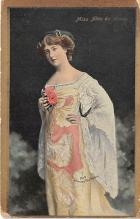 the204285 - Theater Actor / Actress Old Vintage Antique Postcard Post Card, Postales, Postkaarten, Kartpostal, Cartes, Postkarte, Ansichtskarte