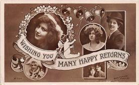the204294 - Theater Actor / Actress Old Vintage Antique Postcard Post Card, Postales, Postkaarten, Kartpostal, Cartes, Postkarte, Ansichtskarte