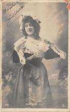 the206001 - Theater Actor / Actress Old Vintage Antique Postcard Post Card, Postales, Postkaarten, Kartpostal, Cartes, Postkarte, Ansichtskarte