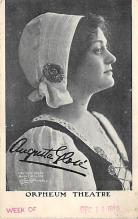 the207013 - Theater Actor / Actress Old Vintage Antique Postcard Post Card, Postales, Postkaarten, Kartpostal, Cartes, Postkarte, Ansichtskarte