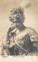 the207133 - Theater Actor / Actress Old Vintage Antique Postcard Post Card, Postales, Postkaarten, Kartpostal, Cartes, Postkarte, Ansichtskarte