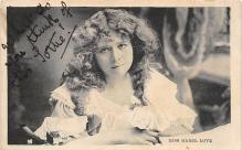 the212005 - Theater Actor / Actress Old Vintage Antique Postcard Post Card, Postales, Postkaarten, Kartpostal, Cartes, Postkarte, Ansichtskarte