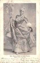 the216075 - Theater Actor / Actress Old Vintage Antique Postcard Post Card, Postales, Postkaarten, Kartpostal, Cartes, Postkarte, Ansichtskarte