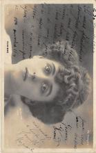 the218160 - Theater Actor / Actress Old Vintage Antique Postcard Post Card, Postales, Postkaarten, Kartpostal, Cartes, Postkarte, Ansichtskarte