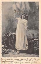 the220016 - Theater Actor / Actress Old Vintage Antique Postcard Post Card, Postales, Postkaarten, Kartpostal, Cartes, Postkarte, Ansichtskarte