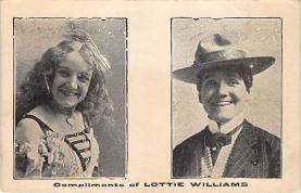 the223176 - Theater Actor / Actress Old Vintage Antique Postcard Post Card, Postales, Postkaarten, Kartpostal, Cartes, Postkarte, Ansichtskarte