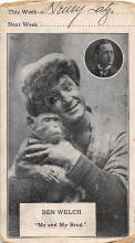 the223179 - Theater Actor / Actress Old Vintage Antique Postcard Post Card, Postales, Postkaarten, Kartpostal, Cartes, Postkarte, Ansichtskarte