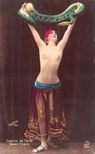 tin000013 - French Tinted Nude Old Vintage Antique Post Card
