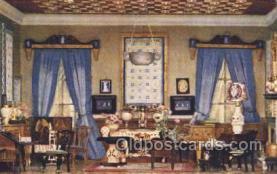 tip001005 - Queen Titania's Boudoir Titania's Palace Royalty Postcard Postcards