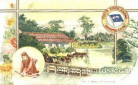 tkk001004 - Public Garden at Takamatsu, Toyo Kisen Kaisha Oriental S.S. Co. Ship, Ships, Postcards. Postcards