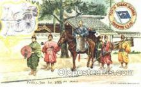 tkk001005 - Ancient Daimyo, Toyo Kisen Kaisha Oriental S.S. Co. Ship, Ships, Postcards. Postcards