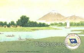 tkk001007 - The River Ba-nyu, Toyo Kisen Kaisha Oriental S.S. Co. Ship, Ships, Postcards. Postcards