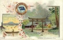 tkk001011 - The Torii and Futaarasan Temple Nikko Japan Toyo Kisen Kaisha Oreintal S.S. Co Shipping Ship Old Vintage Antique Postcard Post Cards
