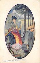 top000103 - Art Post Card,Old Vintage Artist Postcard