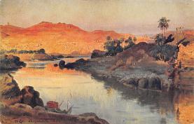 top000417 - Art Post Card,Old Vintage Artist Postcard
