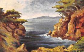 top000461 - Art Post Card,Old Vintage Artist Postcard