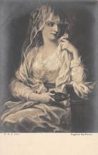 top000495 - Art Post Card,Old Vintage Artist Postcard