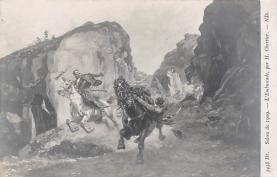 top000509 - Art Post Card,Old Vintage Artist Postcard