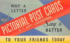 top001899 - Advertising Post Card