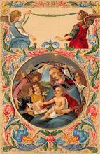 top002573 - Angel Post Card, Angles Postcard
