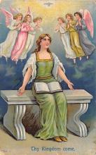 top002585 - Angel Post Card, Angles Postcard