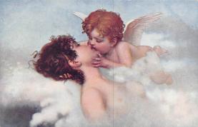 top002607 - Angel Post Card, Angles Postcard