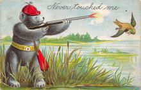 top002891 - Bear Post Card