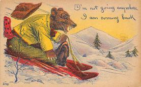 top002907 - Bear Post Card