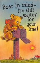 top002965 - Bear Post Card