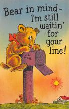 top002967 - Bear Post Card