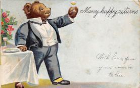 top003021 - Bear Post Card