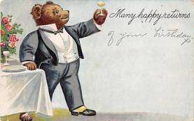 top003203 - Bear Post Card