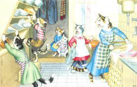 top003681 - Cat Post Card