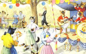 top003691 - Cat Post Card